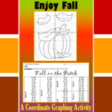 Fall in the Patch - A Fall Coordinate Graphing Activity