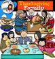 Thanksgiving Family Clip Art  (and first Thanksgiving)