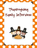 Thanksgiving Family Interview
