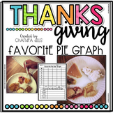 Thanksgiving Favorite Pie Graph