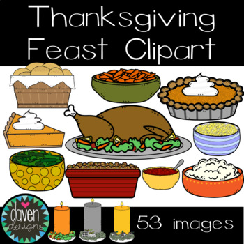 Thanksgiving Feast Clip Art