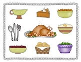 Thanksgiving Feast: A Subtraction Strategy Game {FREEBIE}
