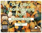 Thanksgiving Feast Activities