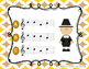 Thanksgiving Feast - Aural Melody Recognition Game w/ staff notation{sol mi la}