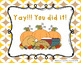 Thanksgiving Feast - Aural Melody Recognition Game w/ staf