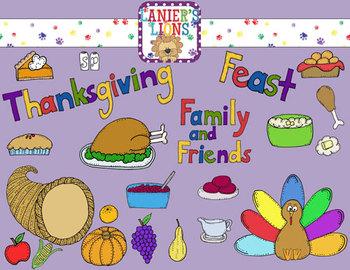 Thanksgiving Feast Clip Art