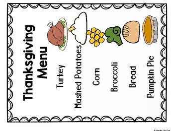 Thanksgiving Feast Dramatic Play