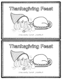 Thanksgiving Feast Easy Reader with Comprehension Worksheet