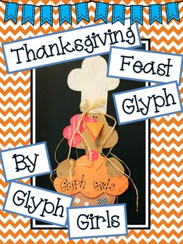 Thanksgiving Feast Glyph with Writing Options