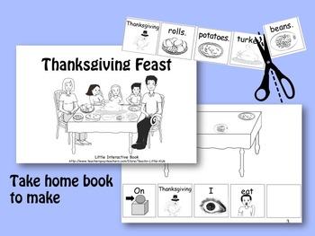Thanksgiving Feast LITTLE INTERACTIVE BOOK