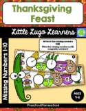 Thanksgiving Feast (Level 3) Missing Numbers 1-10