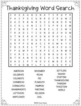 Thanksgiving Math - Problem Solving