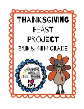 Thanksgiving Feast Math Project