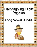 Thanksgiving Feast Phonics: Long Vowel Bundle