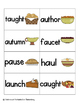Thanksgiving Feast Phonics: Vowel Digraphs and Diphthongs Pack 2: aw, au, oi, oy