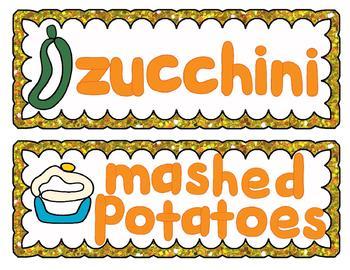Thanksgiving Feast Play-doh Mats