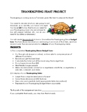 Thanksgiving Feast Project