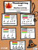 Thanksgiving Feast Rhythm Activity (including PPT)