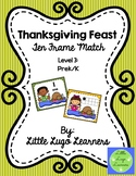 Thanksgiving Feast (Level 3) Ten Frame Match