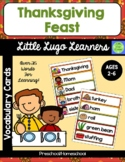Thanksgiving Feast Vocabulary Cards