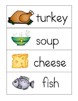 Thanksgiving Feast Writing