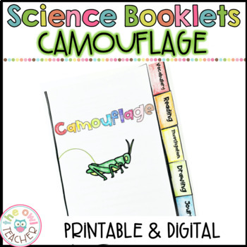 Camouflage Investigation Tabbed Booklet (Adaptations)