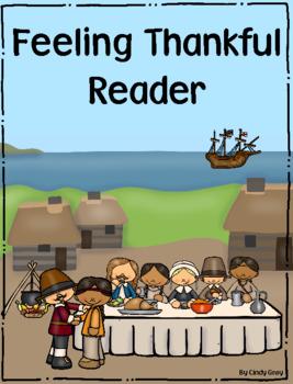 Thanksgiving ~ Feeling Thankful Reader