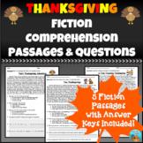 Thanksgiving Fiction Comprehension Passages