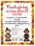 Thanksgiving Fictional Narrative Writing