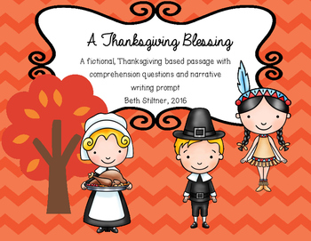 Thanksgiving Fictional Passage