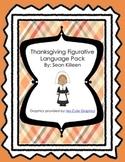 Thanksgiving Figurative Language Pack