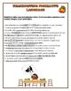 Thanksgiving Figurative Language Worksheet