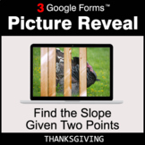 Thanksgiving: Find the Slope Given Two Points - Google For