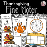 Thanksgiving Fine Motor Activities