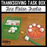 Thanksgiving Fine Motor Freebie: Roll-a-Pie