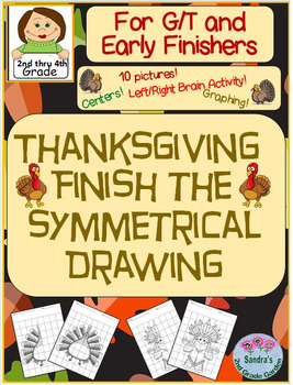 Thanksgiving Finish the Symmetrical Drawing for G/T and Ea