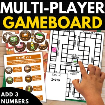 Thanksgiving 1st Grade Math Puzzles