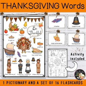 Thanksgiving Flashcards and Poster