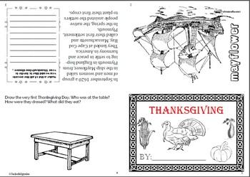 Thanksgiving Flip Book