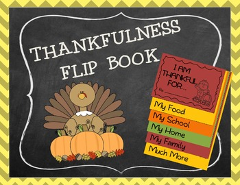 Thanksgiving Activity, Thanksgiving Flip Book, Thankfulnes