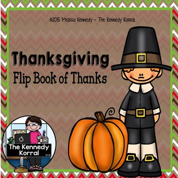 Thanksgiving Book of Thanks {Flip Book}