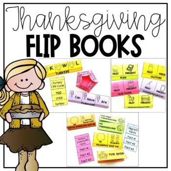 Thanksgiving Flip Books
