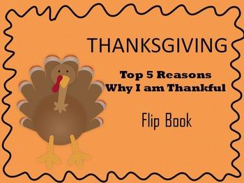 Thanksgiving Flipbook