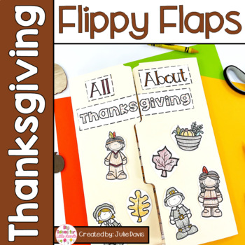 Thanksgiving Activities Interactive Notebook Lapbook