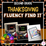 Thanksgiving Fluency Find It (2nd Grade)