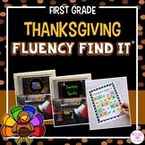 Thanksgiving Fluency Find It® (1st Grade)
