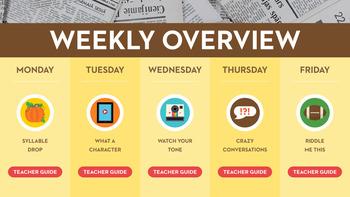 Thanksgiving Fluency in a Flash 2nd Grade • Digital Fluency Mini Lessons