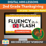 Thanksgiving Fluency in a Flash 2nd Grade • Digital Fluenc