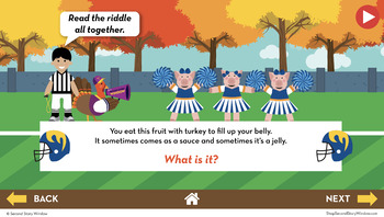 Thanksgiving Fluency in a Flash 3rd Grade • Digital Fluency Mini Lessons