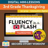 Thanksgiving Fluency in a Flash 3rd Grade • Digital Fluenc